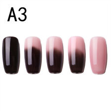 6ml Thermal Nail Polish Peel off Temperature Color Changing Varnish Manicurefm A3