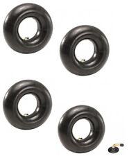 (4) TIRE INNER TUBES 3.50-5 4.10-5 TR87 90° Bent Valve for Sears Craftsman Mower