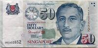 SINGAPOUR - 50 DOLLARS (Non Daté) - Billet de banque (TTB)