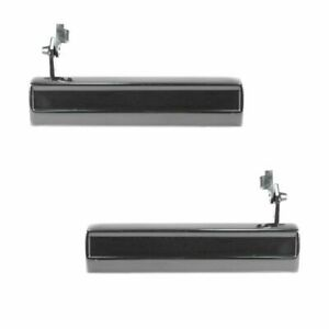 Outer Outside Exterior Door Handle Pair Set of 2 for Chevy Pickup Truck S10 S-15