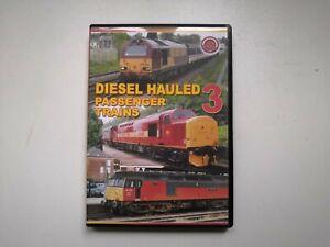 Train Crazy Diesel Hauled Passenger Trains 3 DVD
