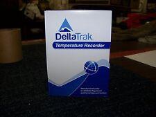 DeltaTrak Temperature Recorder 20 EA Model: 10 Day Recorder