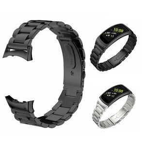 Edelstahl Ersatz Uhrenarmband für Samsung Gear Fit 2 SM-R360 Pro M-R365 DE