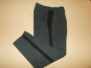 UNDER ARMOUR BLACK FULLY LINED ATHLETIC PANTS MENS LARGE EXCELLENT CONDITION