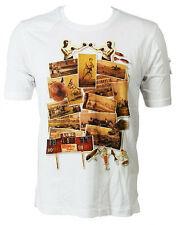 Luke 1977 'Sporting Collage' Men's T-Shirt White (LKTS002)
