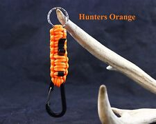 550 Paracord Keychain with Bottle Opener! - HUNTERS ORANGE - BUY 2 GET 1 FREE!