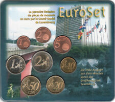 Luxemburg BU 2002 set in blister