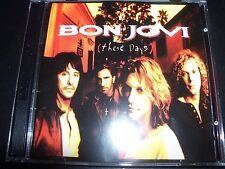 Bon Jovi These Days Australian Tour Edition 2 CD With Live CD EP