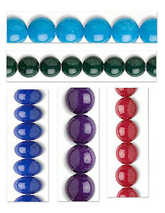 Mountain Jade Gemstone Round Beads Choice of Color and Size