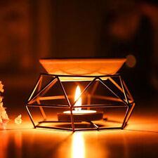 Creative Iron Oil Burner Ceramic Aroma Diffuser Home Office Decor Aromatherapy