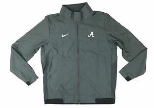 New Nike Alabama Crimson Tide Travel Jacket 2.0 Men's Large Grey AH7765 $135
