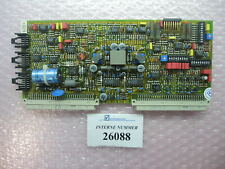 Amplifier card, SN. 99504, Bosch No. 0811405045