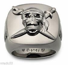 Swarovski Disney Skull and Sword Ring size 62 /9.5 new