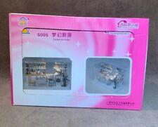 DIY Miniature House Room Kit LED Sweet Kitchen G005