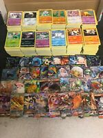 50 Pokemon Cards Bundle With 1 GX or EX or V  HOLO GUARANTEED
