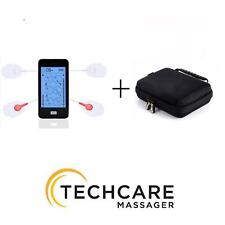 TechCare Touch 24 Massager Tens Unit Muscle Stimulator Machine with Hard Case