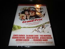 """COLLECTOR 2 DVD NEUF """"GRAND PRIX"""" James GARNER Yves MONTAND Francoise HARDY"""