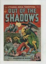 OUT OF THE SHADOWS # 6 CGC 5.0, ow/white pages, Alex Toth & Ross Andru art 1952
