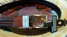 Donald J. Trump Size 32 Signature Collection Reversible Braided Leather Belt NEW