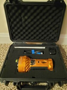 OLIGHT Marauder 2 Orange 14000 Lumens Flood / Spot  Rechargeable Flashlight NEW!