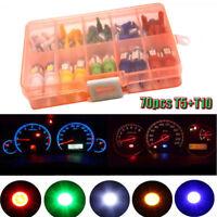 70x T5+T10 Instrument Panel Cluster Plug Dash Light LED Bulb Lights For Car SUV