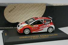 Ixo 1/43 - Citroen C2 S1600 Rallye Monte Carlo 2005