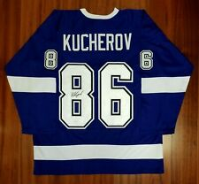 Nikita Kucherov Autographed Signed Jersey Tampa Bay Lightning JSA