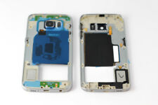 For Samsung Galaxy S6 Edge, Middle Chassis Replacement Casing - Blue