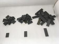 LEGO beau lot GRIS FONCE de 55 plaques - Dark Stone Gray Star Wars KG - DG-025