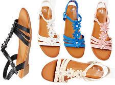 Markenlose Damen-Sandalen & -Badeschuhe aus Synthetik für die Freizeit