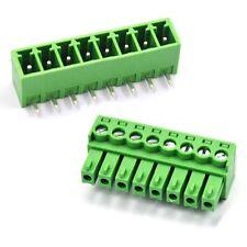 Right Angle 8Pin 3.81mm KF2EDG PCB Terminal Block Screw Connectors Male&Female