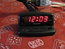 *****GENUINE SHARP DIGITAL LED DISPLAY TRAVEL ALARM CLOCK (SPC026)*****