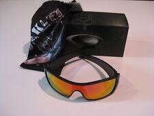 New Oakley Batwolf Sunglasses Matte Black Ink Ruby Iridium OO9101-38