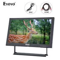 Eyoyo 13'' 1920x1080 Color Video Audio VGA BNC HDMI IPS Monitor For CCTV DVD PC