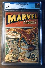 🔥MARVEL MYSTERY COMICS # 74 CGC Slab SCHOMBURG TIMELY 1945 Human Torch!