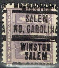 1919 3c VICTORY with dbl precancel (537-207) from WINSTON-SALEM, NC. MINT NHOG!!