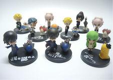 Set of 9 pc Japan Anime Figure - Code Geass characters