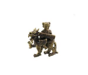 Amulette talisman Porte Bonheur Pi Yao Pixiu Fortune Luck Feng Shui G61