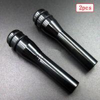 2pcs Universal Aluminum Alloy Car Door Lock Knob Pull Pins Cover Car Accessories
