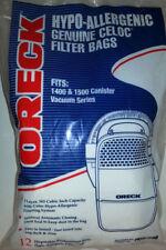 12 Oreck Vacuum Bags, Edge Compact Canister, Part PKCC12DW, Qty-1PK