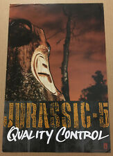 JURASSIC 5 Rare 2000 PROMO POSTER for Quality CD USA NEVER DISPLAYED 12x18