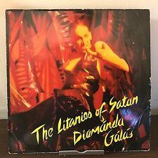 The Litanies Of Satan by Diamánda Gálás 1982 Vinyl Y Records UK Import 1st Press