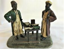 Franz Bergman Antique Austrian Bronze Arab Scholar and Student Very Rare
