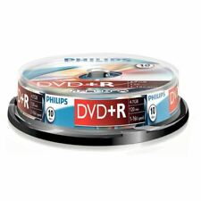 Philips DVD+R 120 Min. 4.7gb 16x Speed Grabable Discos en Blanco - 20 Pack