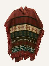 New Unisex Cotton & Wool Boho festival Hippie Poncho Free Size