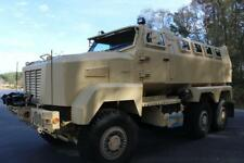 Customized Military Vehicle Built On A 6X6 Caiman Chassis