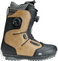 Rome Inferno Double Boa Mens Snowboard Boots size 9 Tan New 2020