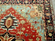 Handsome Serapi Design Oriental Room Size Carpet Excellent Condition 9 x 12