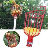 Fruit Picking-Professional Fruit Picker Tool Kit,Fruit Pickers with Nylon Catcher Basket LBZE Fruit Picker Basket