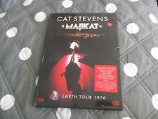 "DVD ""CAT STEVENS : MAJIKAT, EARTH TOUR 1976"" concert"